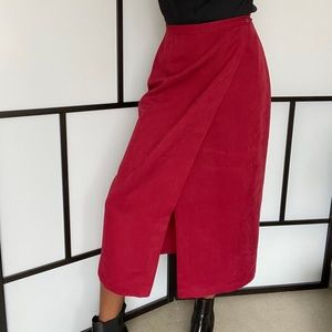Vintage (Daniel Hechter) wrap skirt